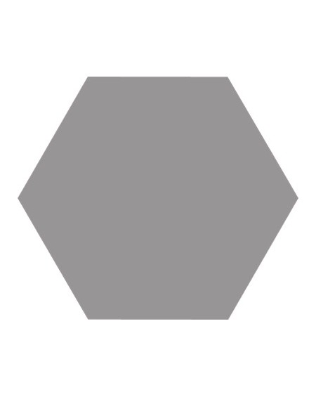Dlažba obklad Basic Grey 22x25cm Hexagon šestihran výrobce Codicer polomat neutrální šedá