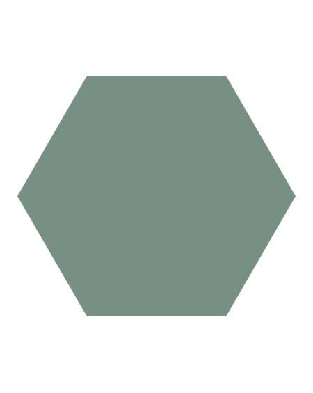 Dlažba obklad Basic Kale 22x25cm Hexagon šestihran výrobce Codicer polomat paví zeleň