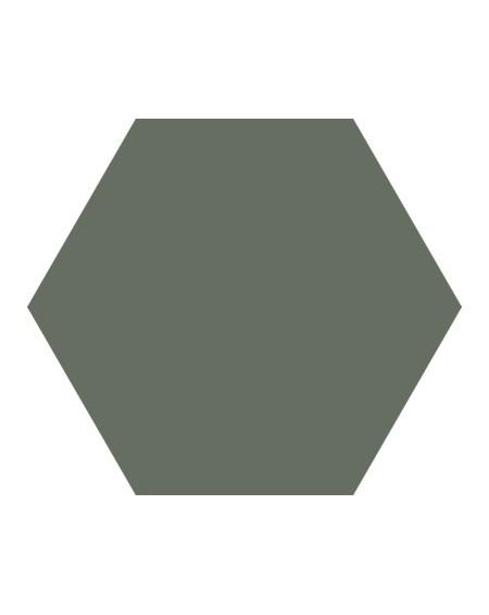 Dlažba obklad Basic Moss 22x25cm Hexagon šestihran výrobce Codicer polomat myslivecká zeleň