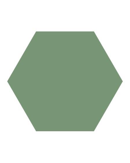 Dlažba obklad Basic Forest 22x25cm Hexagon šestihran výrobce Codicer polomat smaragdová