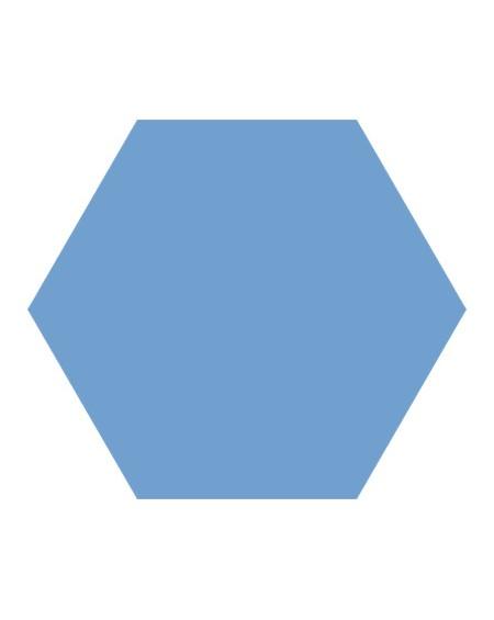 Dlažba obklad Basic Niagara 22x25cm Hexagon šestihran výrobce Codicer polomat modrá azurová