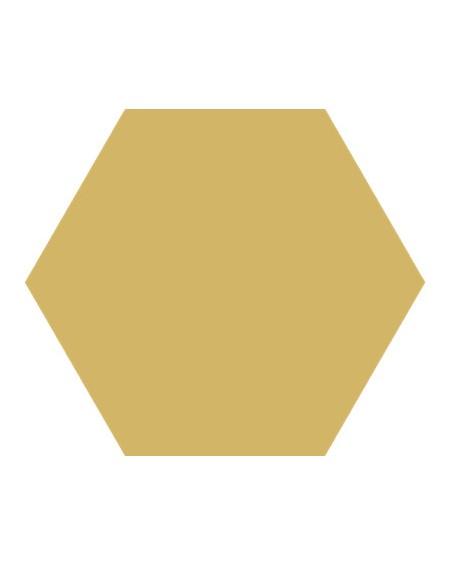Dlažba obklad Basic Dandelion 22x25cm Hexagon šestihran výrobce Codicer polomat hořčicová žlutá