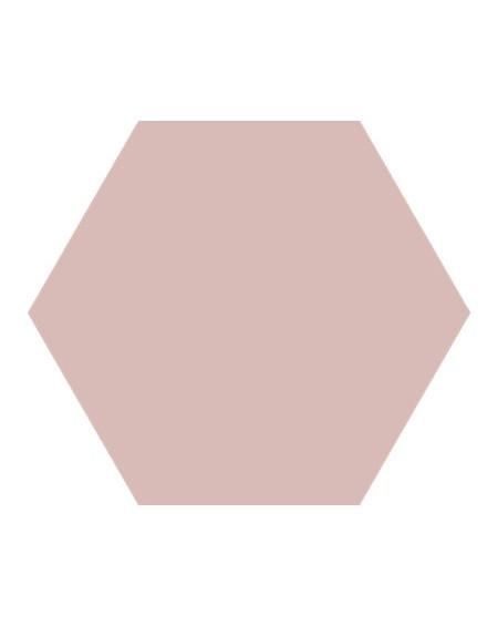 Dlažba obklad Basic Rose 22x25cm Hexagon šestihran výrobce Codicer polomat pudrová starorůžová