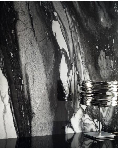 Dlažba obklad Calacatta Renoir C. 60x120cm Naturale Rtt. Černobílá výrobce Emil tl.10mm. Dlažba matná