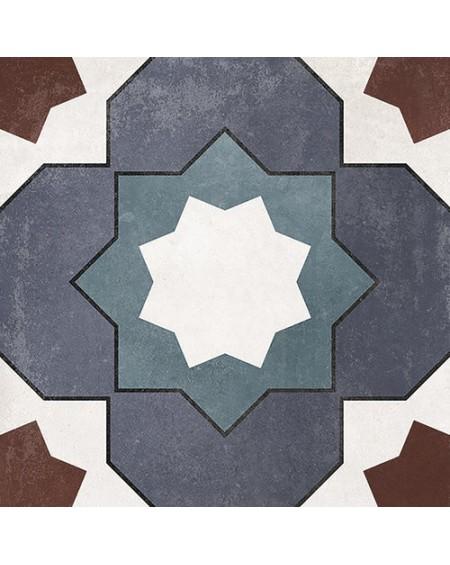 Dlažba obklad se vzorem Art retro patchwork Floriane Karen 15x15cm výrobce Carmen