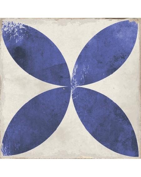 Dlažba obklad se vzorem Art retro patchwork Village Daroca blue 15x15cm modrobílá Maiolica výrobce Carmen