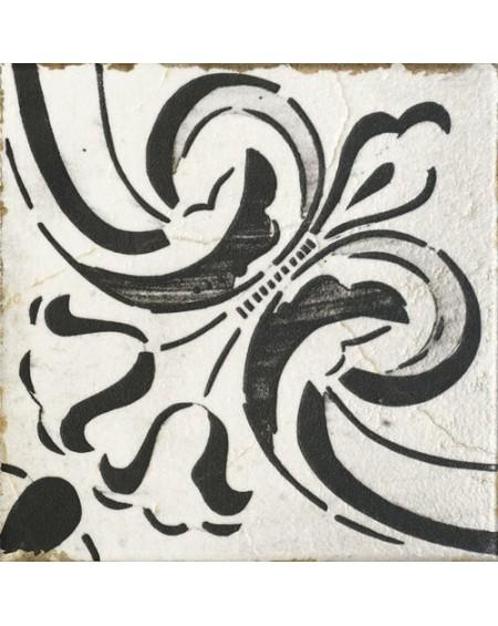 Dlažba obklad vintage Savona Nolita černobílá provence patina 15x15cm výrobce Carmen matná