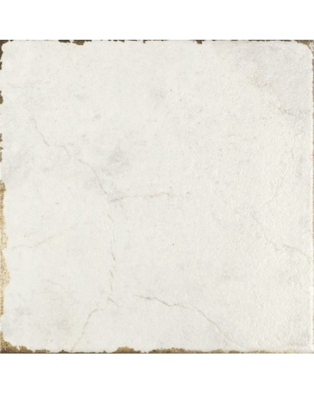 Dlažba obklad vintage Savona White bílá provence patina 15x15cm výrobce Carmen matná