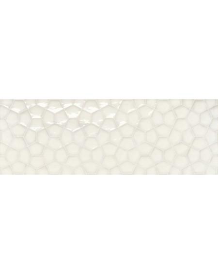 Koupelnový obklad barevný Allegra white Tina 30x90cm Rtt. Kalibrováno lesk výrobce Ape es. Cena za 1/m2