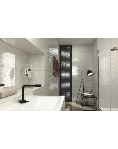 Koupelnový obklad barevný Allegra grey Tina 30x90cm Rtt. Kalibrováno lesk výrobce Ape es. Cena za 1/m2