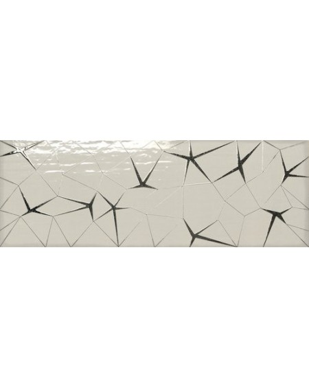 Koupelnový obklad barevný Allegra grey Link dekore 30x90cm Rtt. Kalibrováno lesk výrobce Ape es. Cena za 1/ks