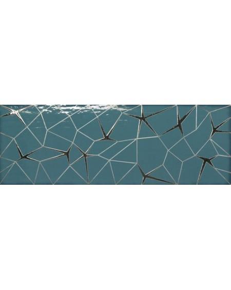 Koupelnový obklad barevný Allegra turquoise Link 30x90cm Rtt. Kalibrováno lesk výrobce Ape es. Cena za 1/ks