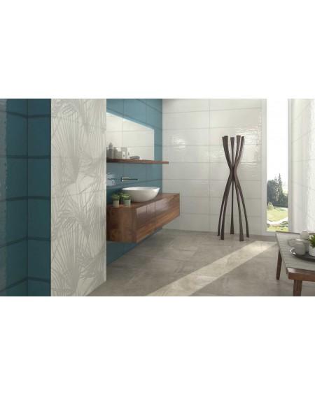 Koupelnový obklad barevný Allegra turquoise 30x90cm Rtt. Kalibrováno lesk výrobce Ape es. Cena za 1/m2