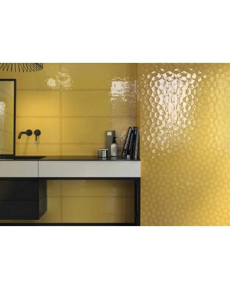 Zobrazit koupelnový obklad barevný Allegra gold Tina 30x90cm Rtt. Kalibrováno lesk výrobce Ape es. Cena za 1/m2