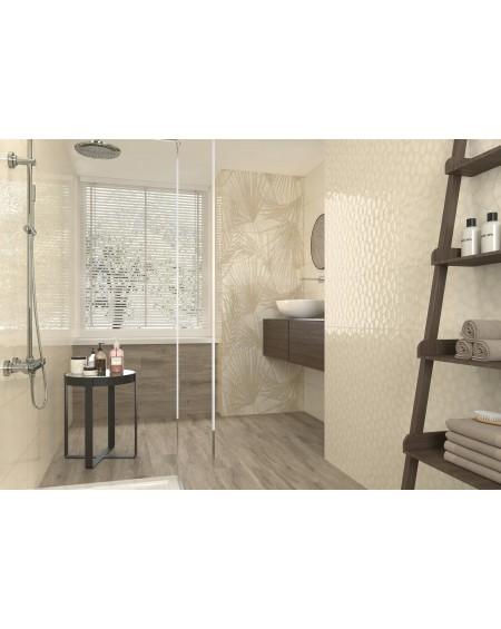 Koupelnový obklad barevný Allegra cream Jungle 30x90cm Rtt. Kalibrováno lesk výrobce Ape es. Cena za 1/ks