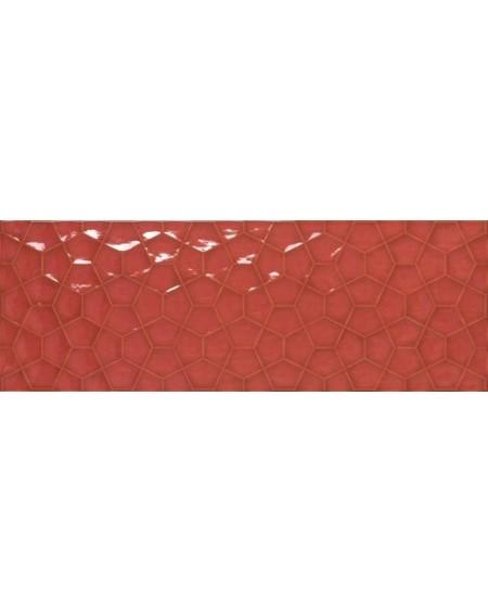 Koupelnový obklad barevný Allegra red Tina 30x90cm Rtt. Kalibrováno lesk výrobce Ape es. Cena za 1/m2