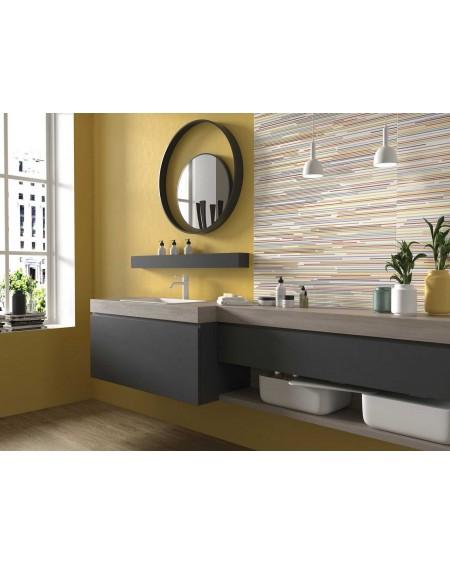 Koupelnový obklad barevný Cloud Gold 35x100cm Rtt. Kalibrováno matný výrobce Ape es. Cena za 1/m2 žlutý