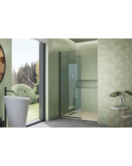 Koupelnový obklad Crayon Green Kentia 30x100cm Rtt. Kalibrováno lesklý výrobce Ape cena za 1/m2 květinový vzor přírodní zelený
