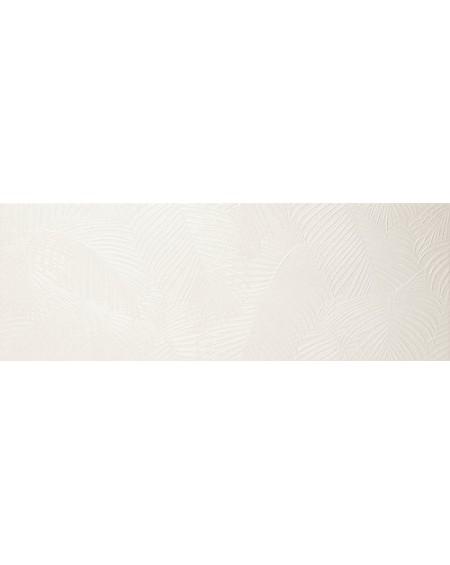 Koupelnový obklad Crayon White Kentia 30x100cm Rtt. Kalibrováno lesklý výrobce Ape cena za 1/m2 květinový vzor