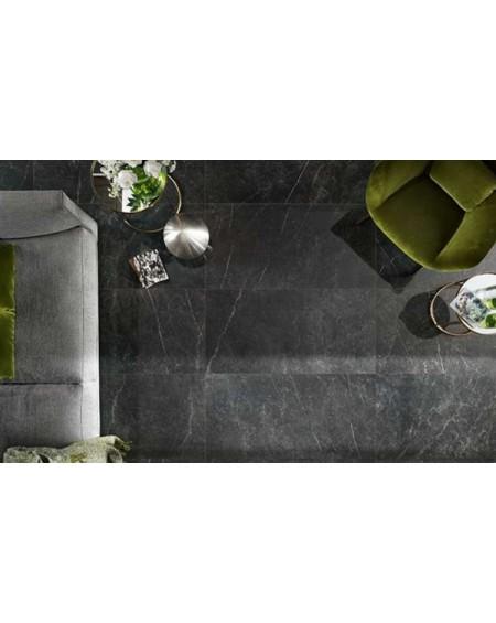 dlažba obklad imitující černý mramor Imperiale nero 60x120cm lappato kalibrováno výrobce Novabell