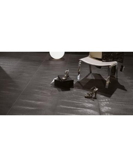 dlažba obklad imitující metalický kovový povrch Nero Fuliggine výrobce tagina italy