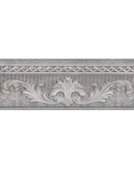 Cenefa Palazzo Ducale Grey Mate 10X25,1 cm výrobce Aparici/ks