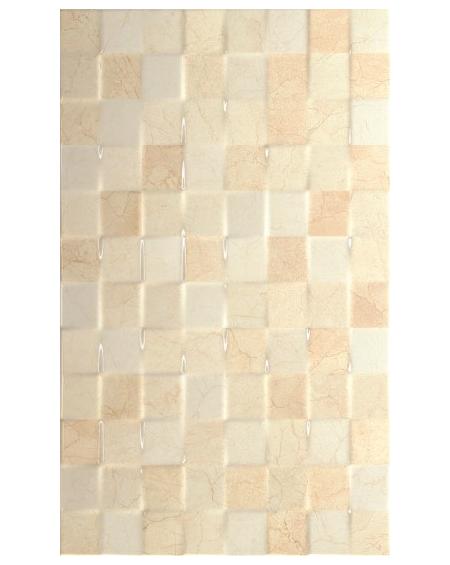 obklad imitují mramor atrium luxor marfil mozaiko relief 33,3x55cm výrobce pamesa