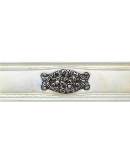 Cenefa Romance Illusion Silver Brillo 7,8X25,1 výrobce Aparici/ks
