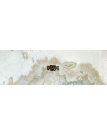 Inserto Romance Illusion Silver Brillo 25,1X75,6 cm výrobce Aparici/ks