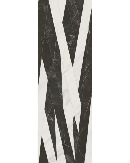 obklad černý mramor pololesk decor Arkit 40x120 cm Rectified výrobce baldocer es.