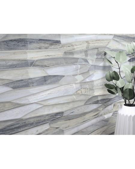 obklad dekor imitující mramor Parsel indigo 40x120 cm pulido lesk TL. 7mm Ultra slim výrobce Baldocer