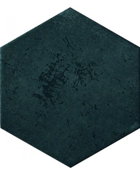 dlažba obklad smaragdová zelená esagona Green Blue 24x27,7 cm hexagon Miami výrobce Cir