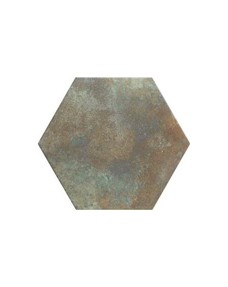 obklad hexagon polo matná zelená rez hex 28 Donegal Forest 28,x33 cm výrobce Realonda šestihran